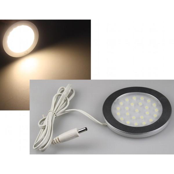 1* LED Aufbauleuchte ABL-R90 warmweiß Unterbau Leuchte Licht 12V 3W 3200K 270Lm