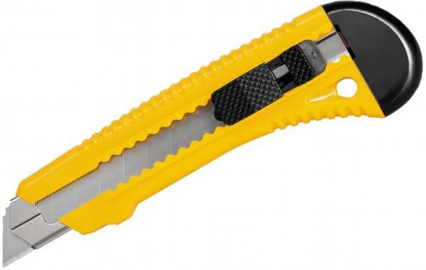 Abbrechmesser mit 18mm Klinge Metallschaft Klingen Feststeller Cuttermesser