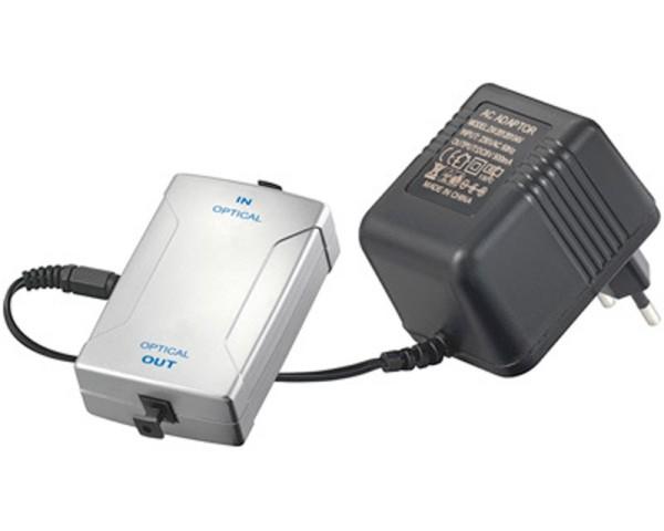 optischer Signal Verstärker Repeater Toslink -> Toslink S/PDIF ODT LWL 5.1 6.1