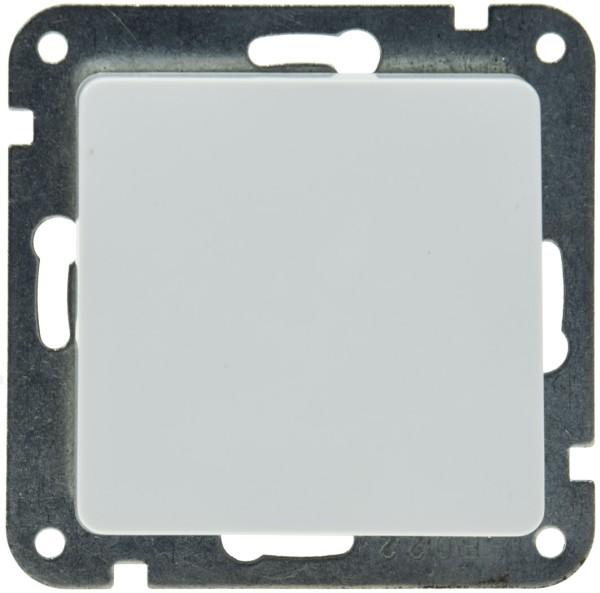 DELPHI Wechsel Schalter OHNE Rahmen mit Klemmanschluss 250V~ 10A Unterputz weiß