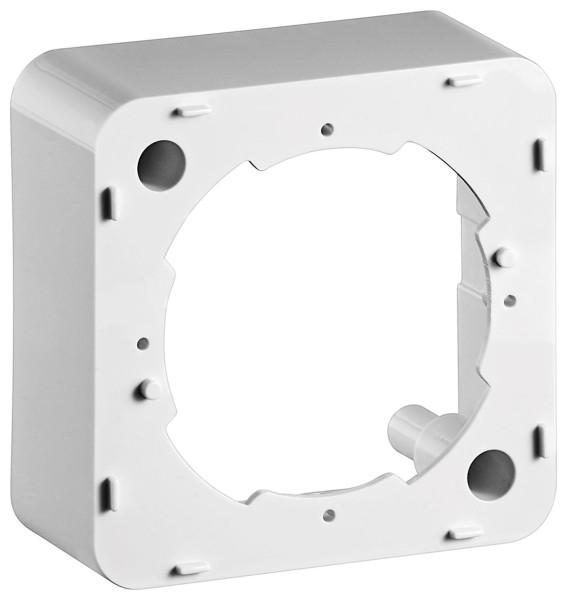 AP Rahmen Aufputzrahmen für SAT TV Antennendose Antenne Dose weiß 76x76x32mm