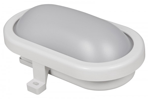 LED Feuchtraumleuchte McShine 450lm 3000K 6W warmweiß IP65 170x92x70mm