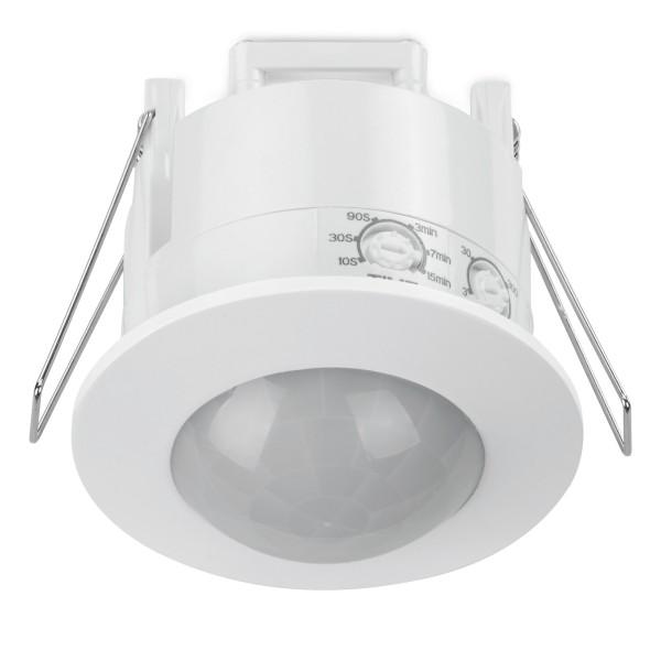 Sonero Bewegungsmelder 360° 6m LED 1-1200 W Decken Unterputz Infrarot Weiß 230V