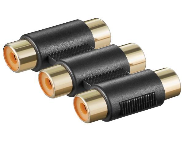 Audio Cinch Adapter Cinch Kupplung Cinch Verlängerung Adapter HiFi RCA Verbinder