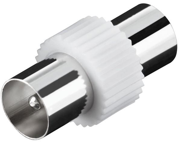 KOAX Stecker auf KOAX Stecker Adapter Antennen Kabel BK TV Sat Antenne koaxial