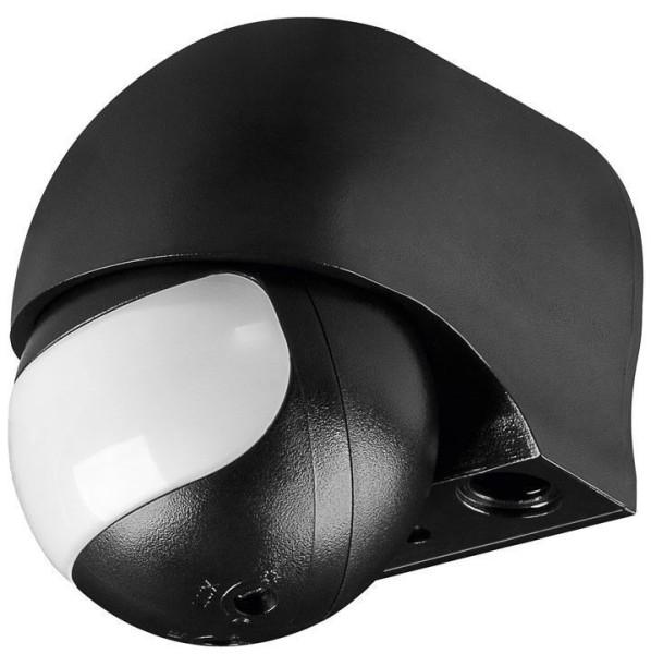 Aufputz Infrarot Bewegungsmelder slim variabler Sensor 180° IP44 LED geeignet