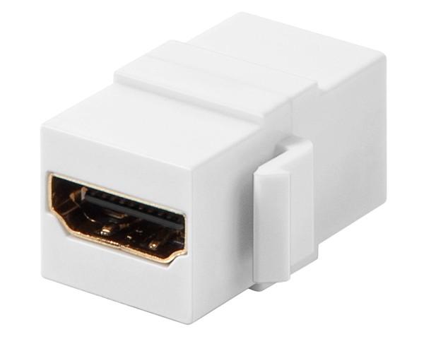 Goobay® KeyStone Modul HDMI Doppel Buchse Kupplung Anschluß Wand Kabel Verbinder