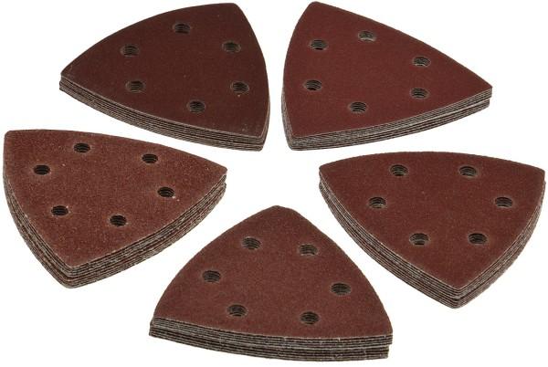 Delta Dreieck Schleifpapier A97 für z.B. Deltaschleifer Parkside PDS290 A1 B2+C3