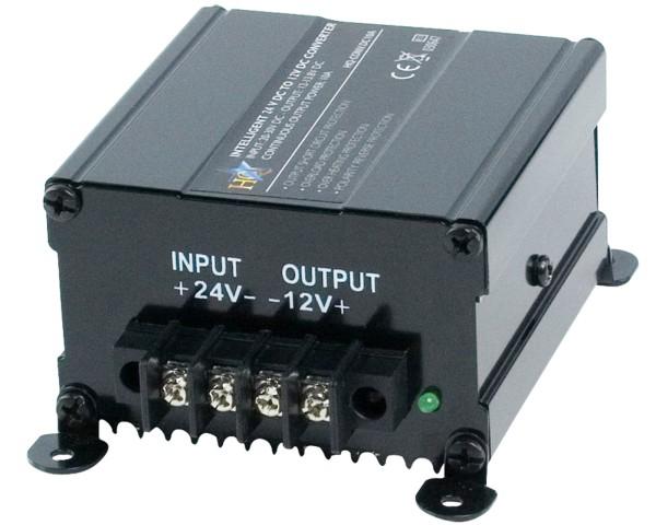 Gleich Spannungswandler von 24V auf 12V 120W max. 10A Kfz Boot Wandler Netzteil