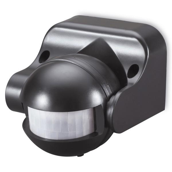 1* Sonero Infrarot Bewegungsmelder schwenkbar 180° 220-240V AC IP44 schwarz