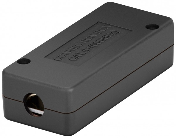 Goobay® Cat6 250Mhz STP LSA Anschlussbox Kabel Verbinder 2*RJ45 Verlängerung LAN